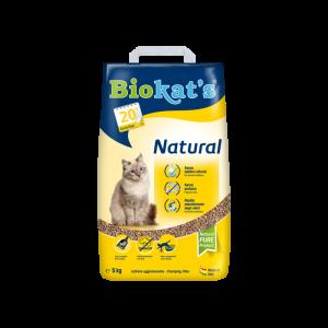 Biokat's Natural Sušokantis Kačių Kraikas