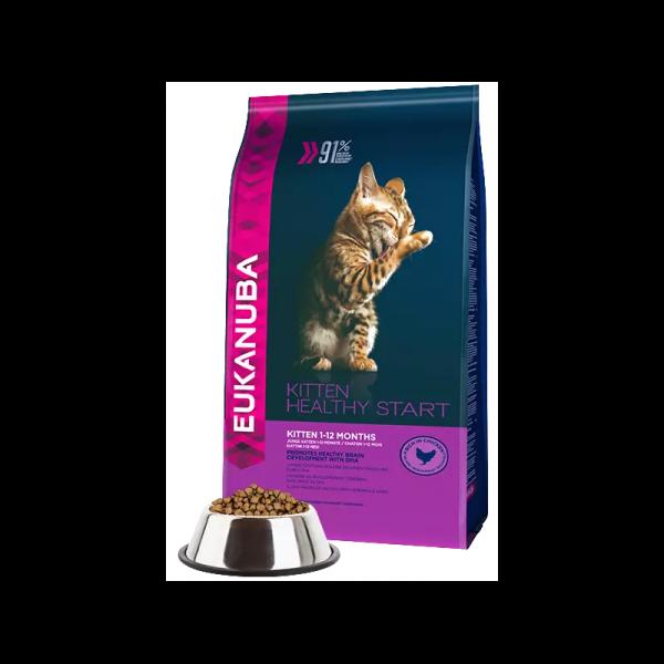 """""""Eukanuba"""" Cat Kitten Healthy Start Chicken"""