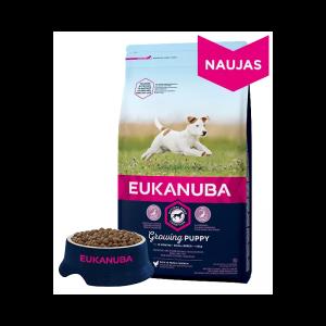 """Eukanuba"" Puppy Small Breed Su Šviežia Vištiena"