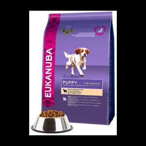 Eukanuba Puppy Small & Medium Breeds Lamb & Rice