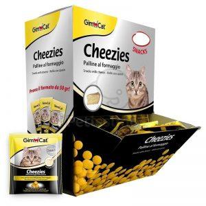 Gimcat Cheezies - Sūrio Ritinėliai
