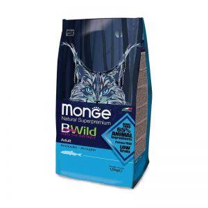 """""""Monge Bwild"""" Cat Adult Su Ančiūviais"""