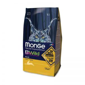 """""""Monge Bwild"""" Cat Adult Su Kiškiena"""