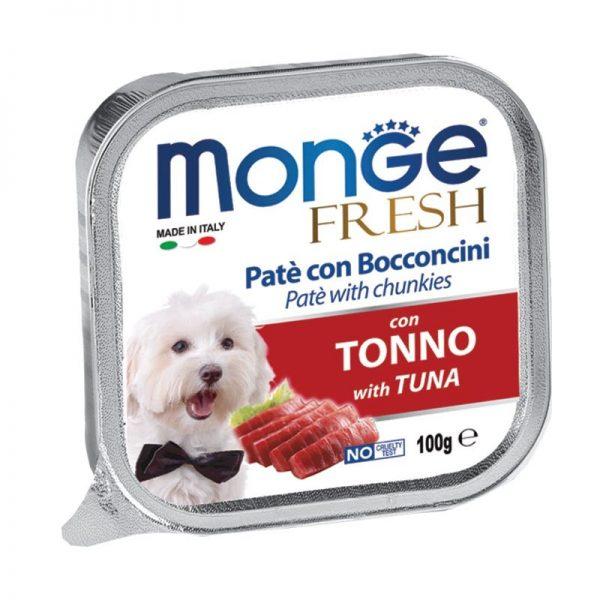 """Monge"" Fresh Konservai Šunims Su Tunu"
