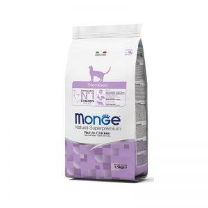 """""""Monge Natural Superpremium"""" Cat Adult Sterilised"""