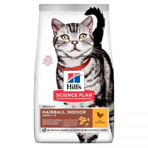 Hill's Science Plan Hairball & Indoor Adult Chicken