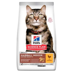 Hill's Science Plan Hairball Indoor Mature Adult Chicken 1.5kg