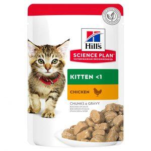 Hill's Science Plan Kitten Guliašas Kačiukams Su Vištiena 12x85g
