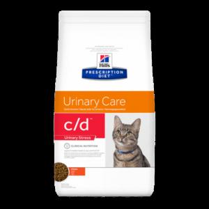 Hill's Prescription Die c/d Feline Urinary Stress with Chicken