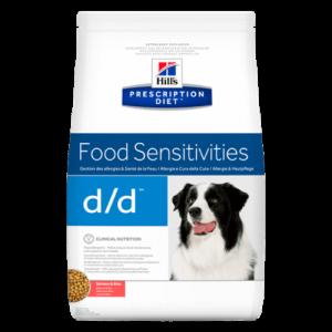 Hill's Prescription Diet d/d Canine Salmon & Rice 12kg