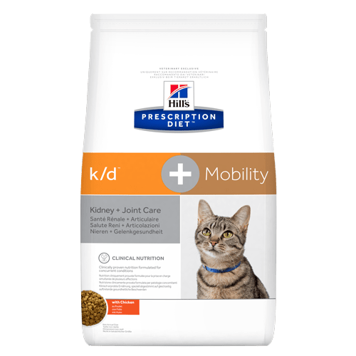 Hill's Prescription Diet k/d+Mobility Feline with Chicken