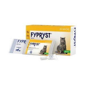 FYPRYST tirpalas katėms nuo erkių ir blusų