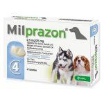 Milprazon tabletės nuo kirmelių šunims