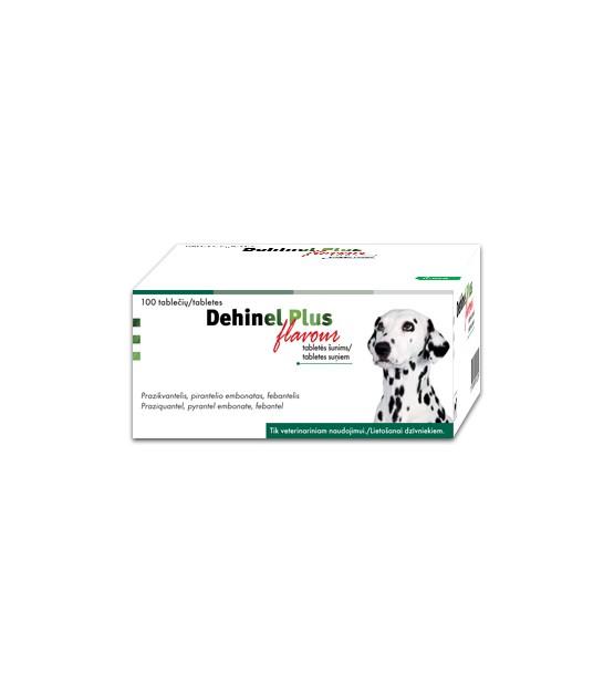 """Dehinel"" Plus Flavour tabletės šunims"