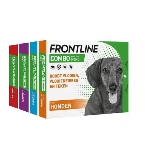 """""""Frontline"""" Combo lašai šunims nuo blusų ir erkių"""