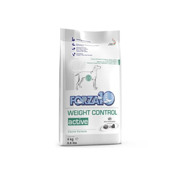 """""""Forza10"""" Weight Control Active Šunims 4kg"""